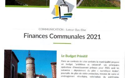 Finances Communales 2021