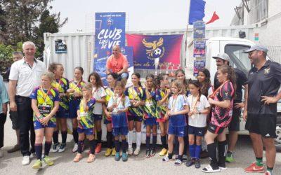 les féminines foot de Latour-Bas-Elne