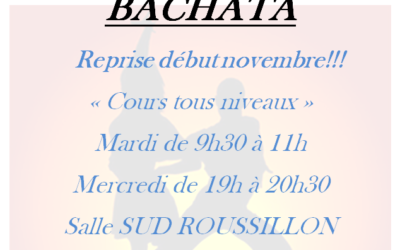 Cours de BACHATA